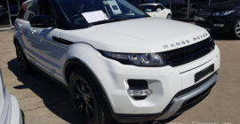Range Rover Mobile Vehicle Inspection