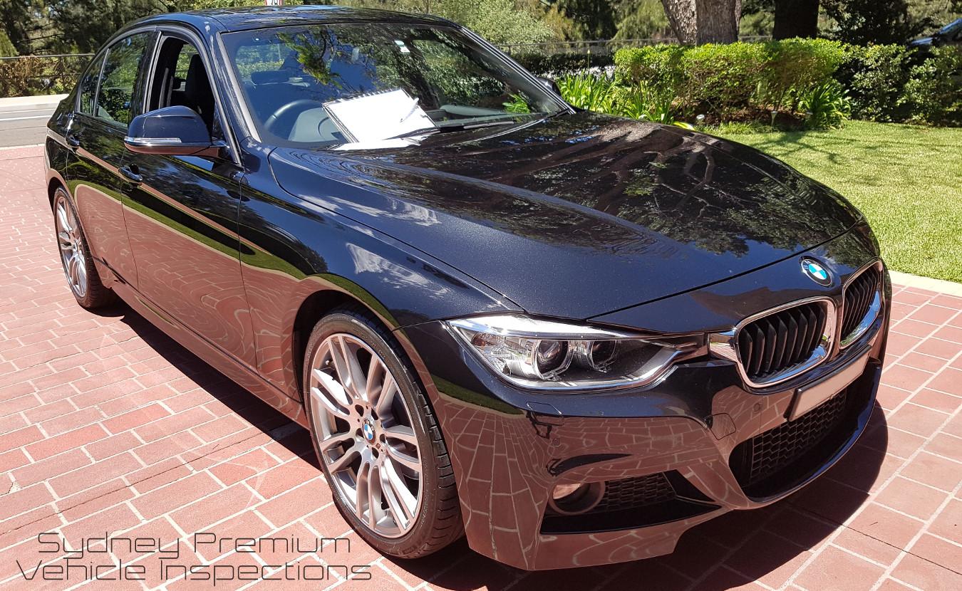 BMW 328i Mobile Vehicle Inspection