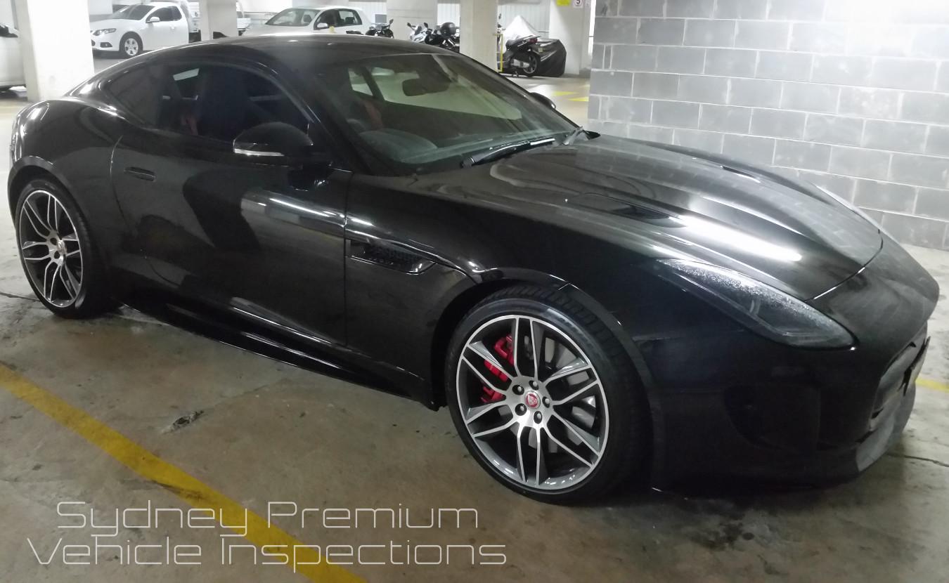 Jaguar Car Inspection