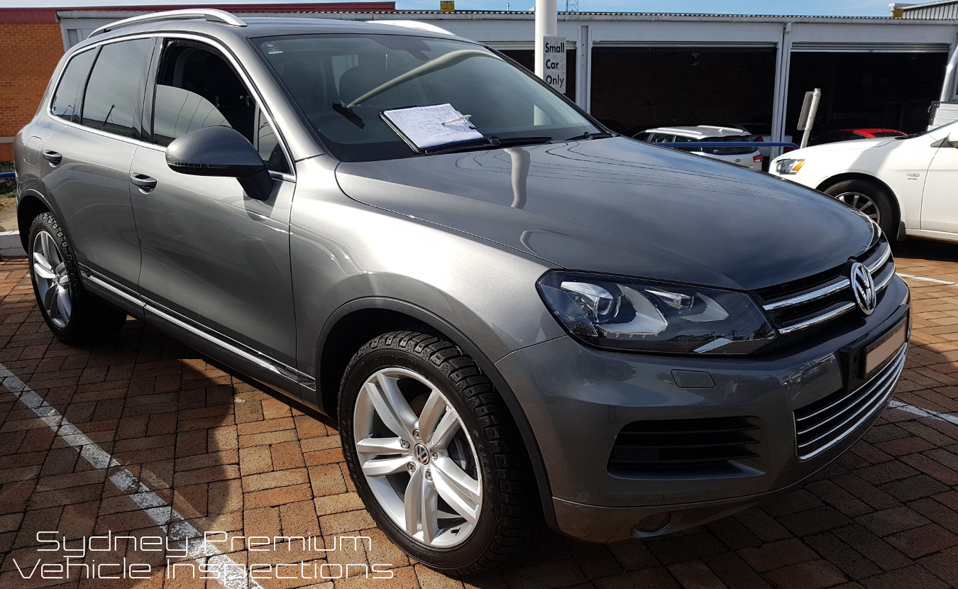 Volkswagen Touareg Pre Purchase Car Check