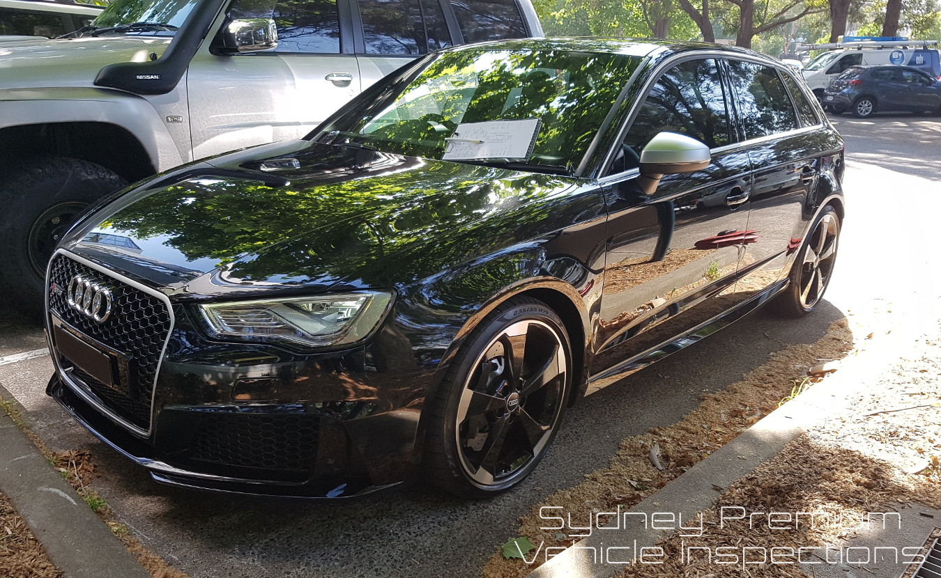 Audi RS3 Mobile Car Inspection