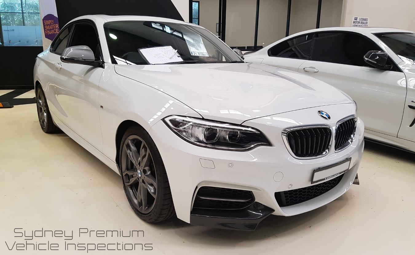 BMW 235i Mobile Car Check