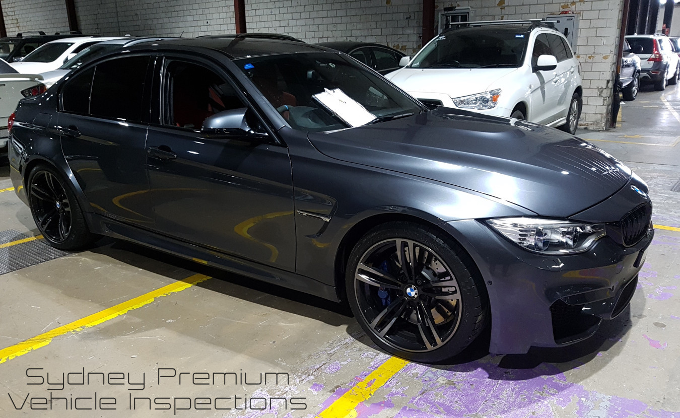 BMW M3 Mobile Vehicle Inspection