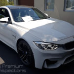 BMW M4 Vehicle Inspection