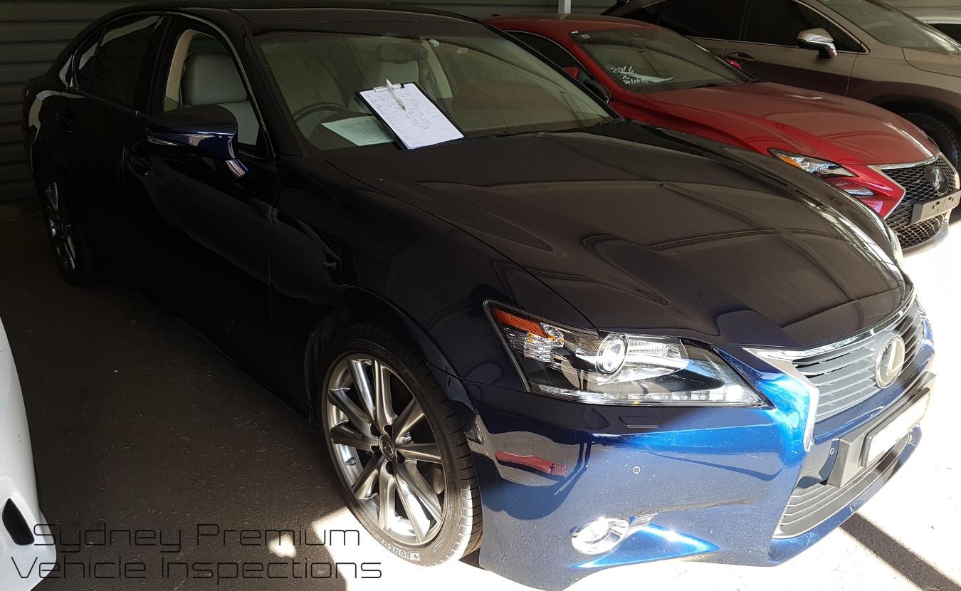 Lexus GS350 Vehicle Inspection