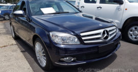 Mercedes C200 Mobile Vehicle Inspection