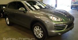 Porsche Cayenne Pre Purchase Car Inspection