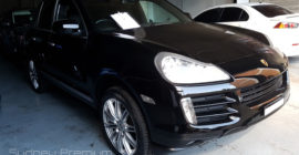 Porsche Cayenne Mobile Car Inspection