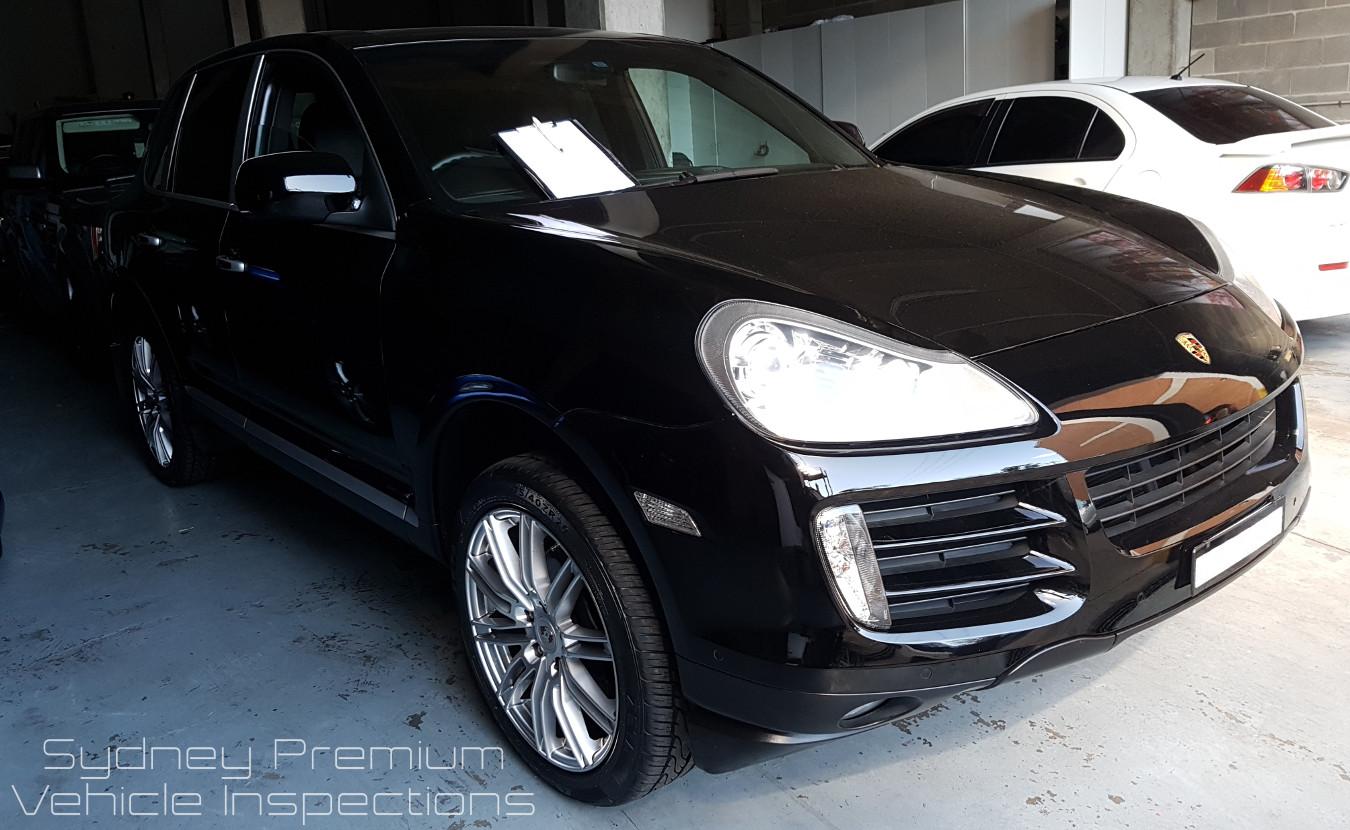 Porsche Cayenne Mobile Car Inspection