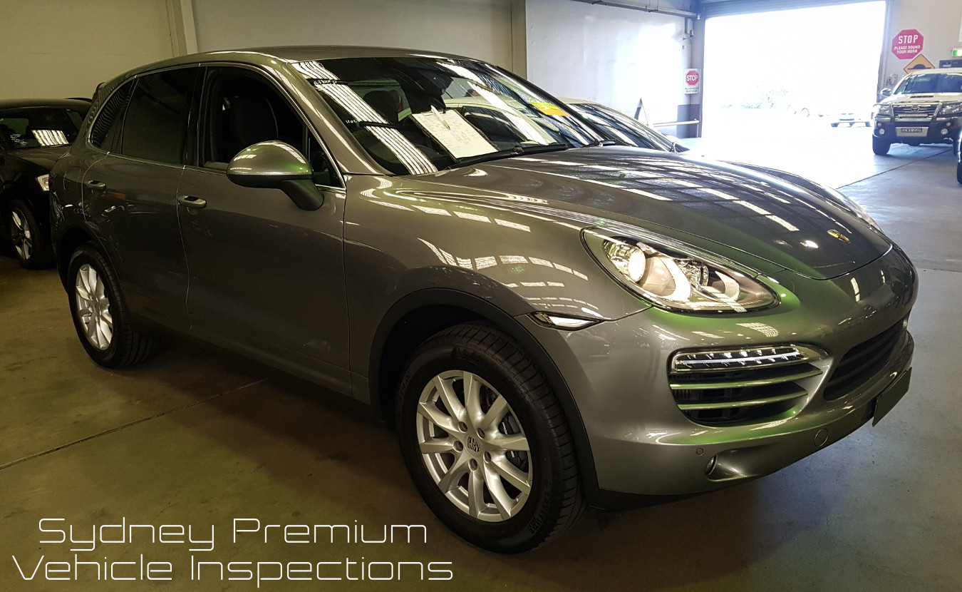 Porsche Cayenne Pre Purchase Car Inspection