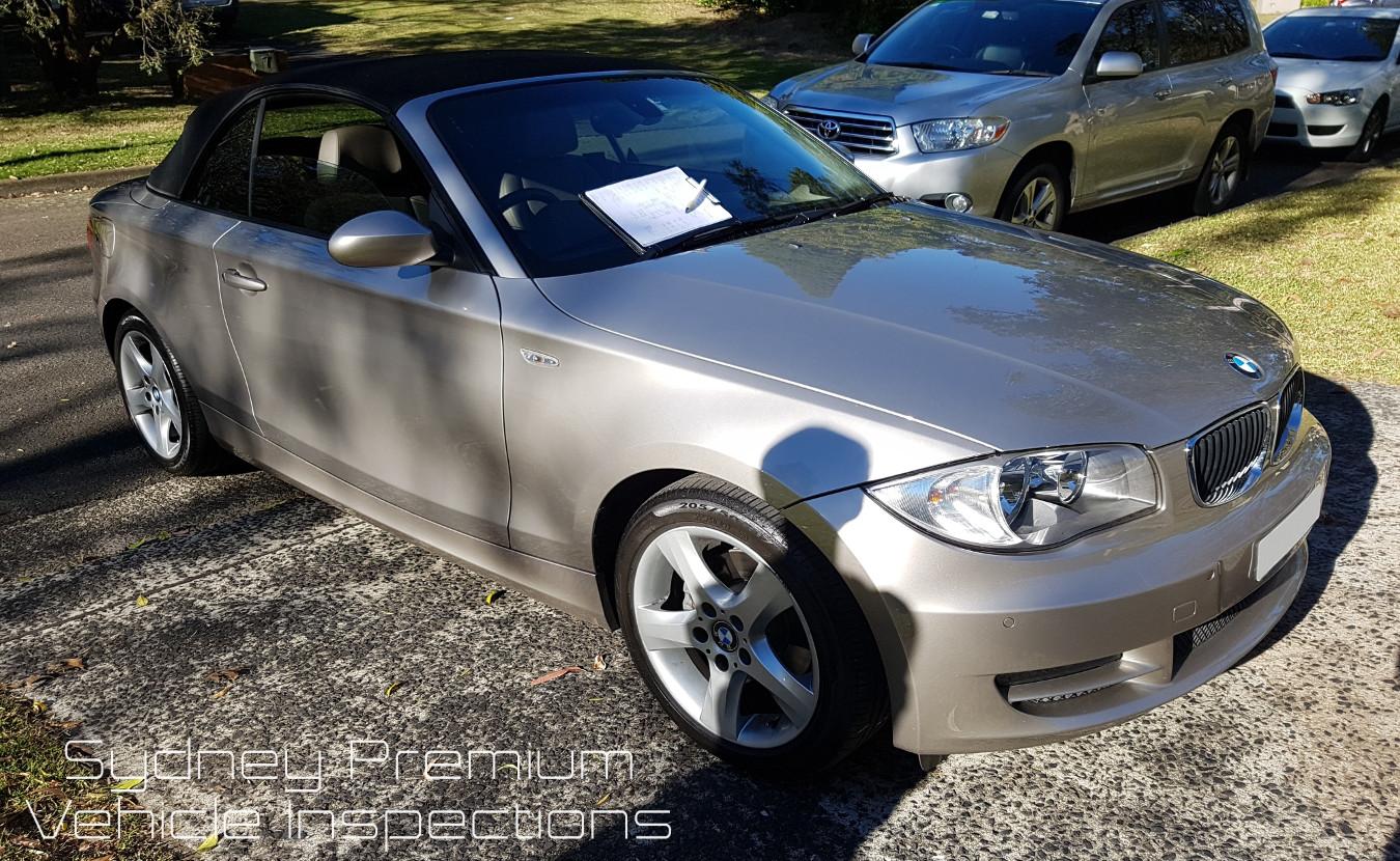 BMW 120i Vehicle Inspection Sydney