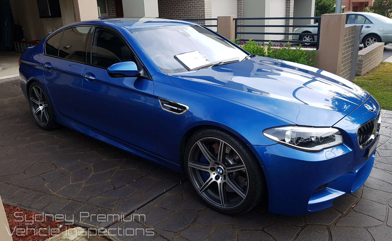 BMW M5 Pre Purchase Vehicle Inspection