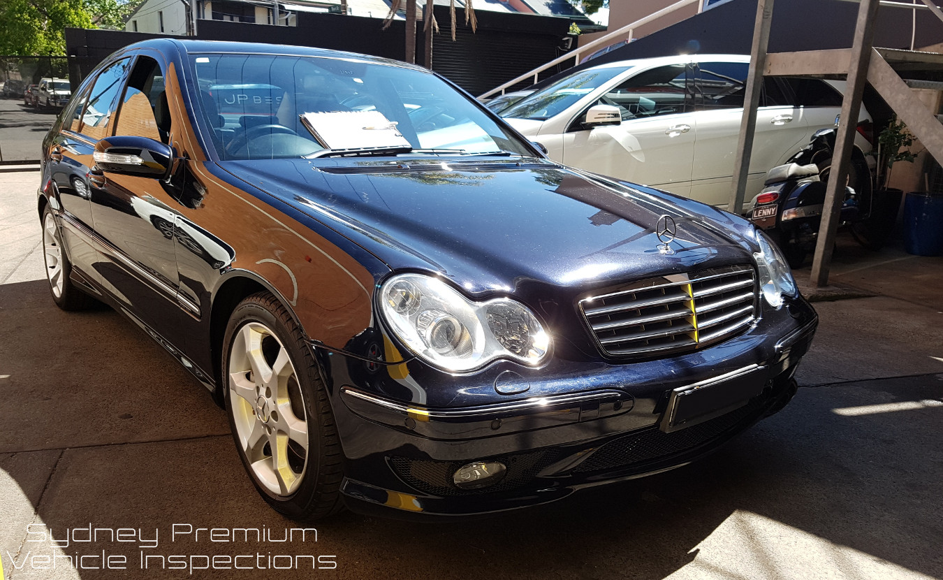 Mercedes C200 Kompressor Used Car Inspection