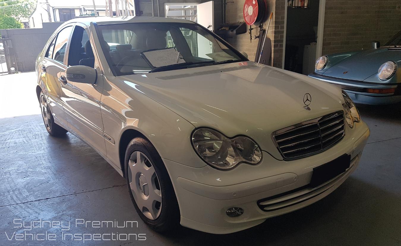 Mercedes C180 Mobile Vehicle Inspection