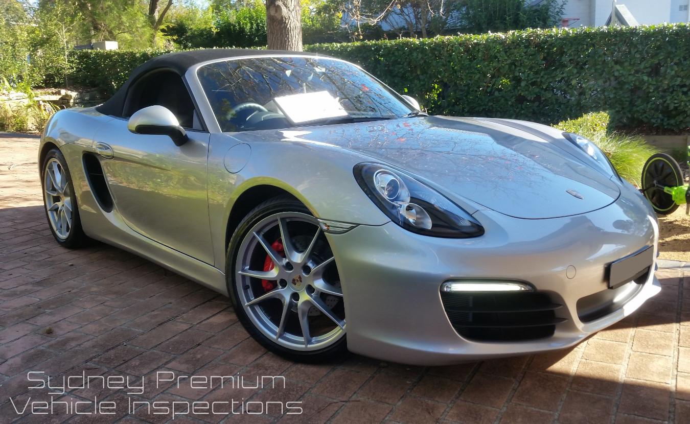 Porsche Boxster Mobile Car Inspection