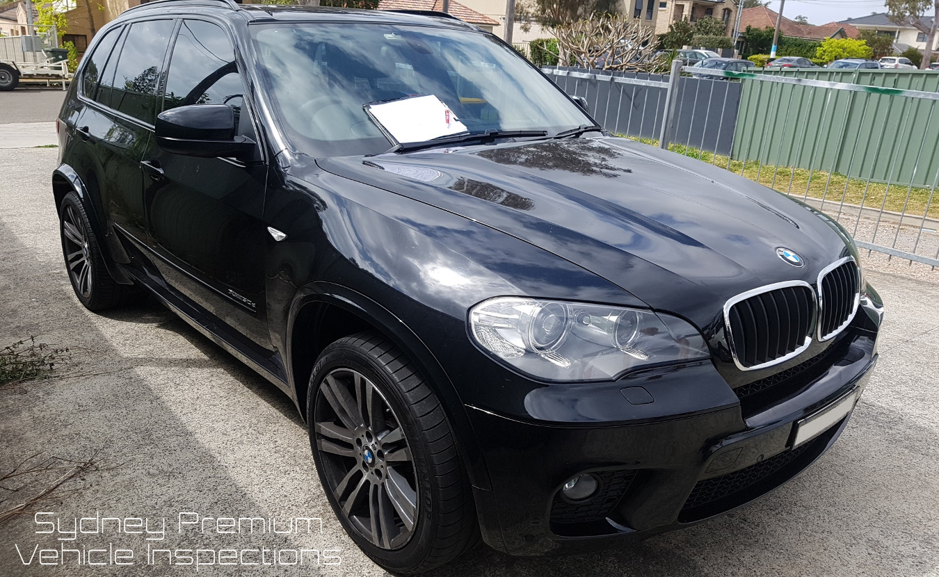 BMW X5 Mobile Car Inspection